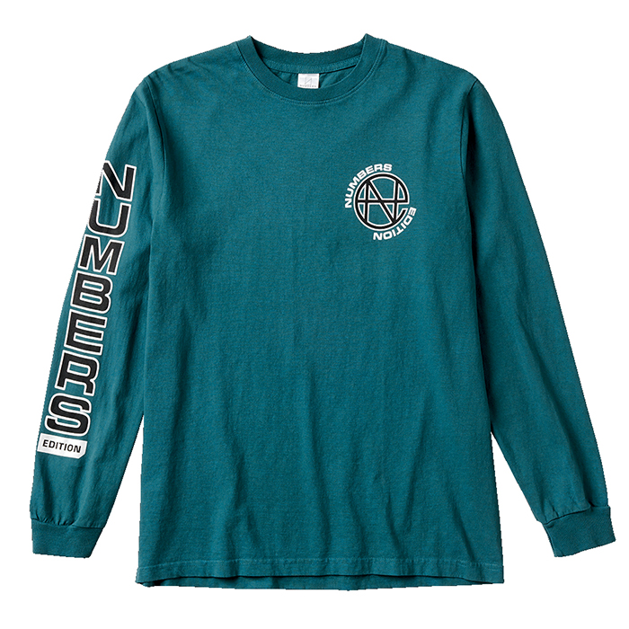 Numbers-LS Tee-Dark Teal_w