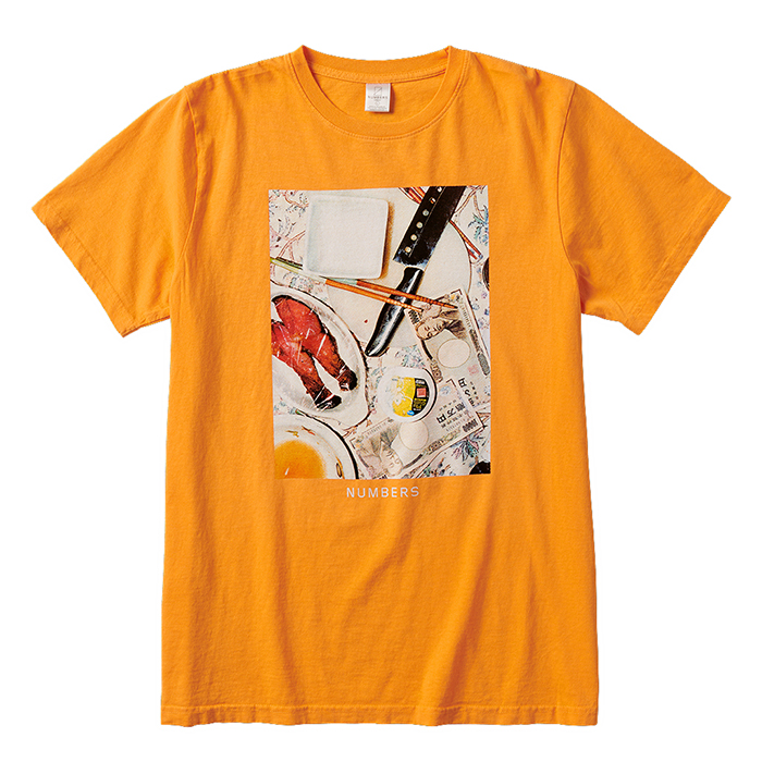 Numbers-SS Tee-Gold-Front_ww