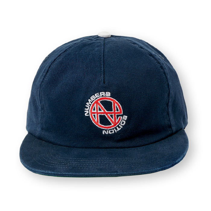 Numbers-Hat-Naavy-Front